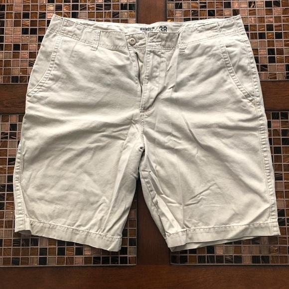 Broken-In Other - Broken-In Khaki Shorts 38